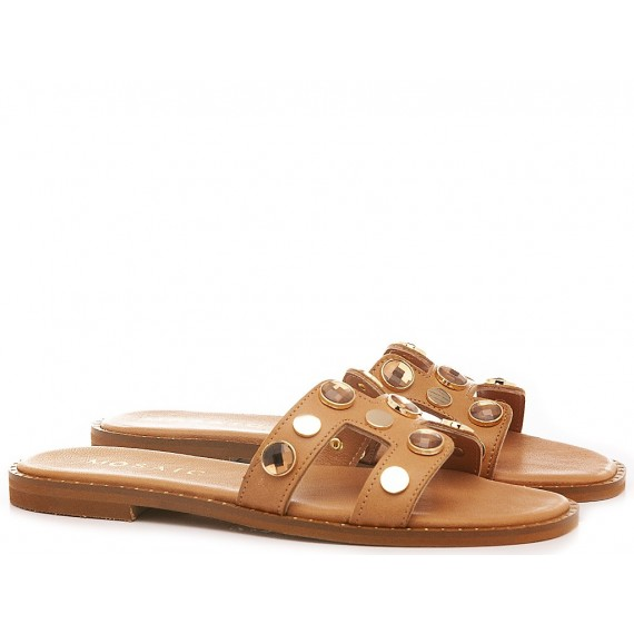 Mosaic Women's Slippers Q100 Tan