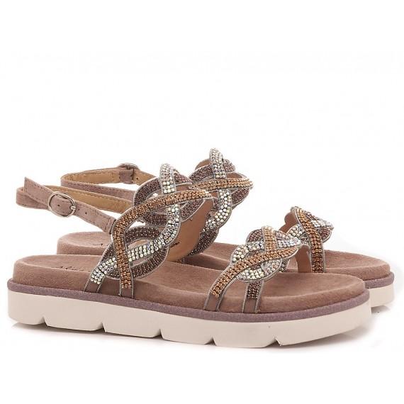 Alma En Pena Women's Shoes-Sandals V20446 Suede Purple