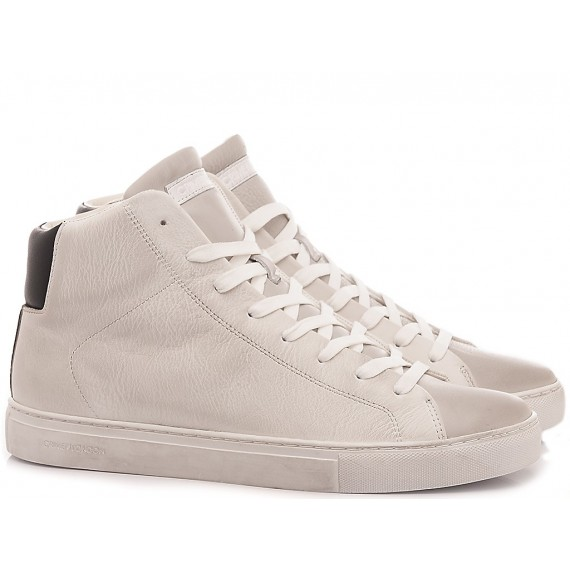 Crime London Sneakers Alte Uomo Infinity Bianco