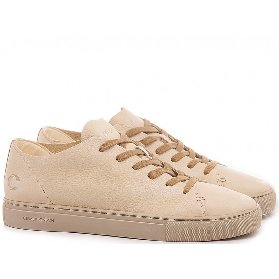 Crime London Sneakers Basse Uomo Raw Lo Beige