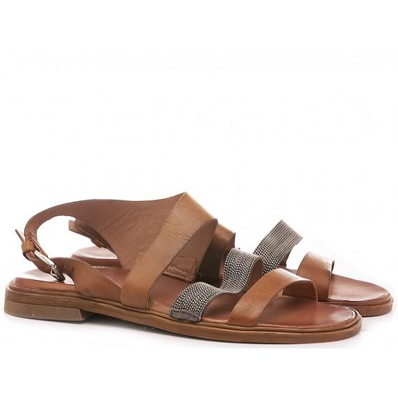 Cuir Veau Women's Sandals M05031 Tan