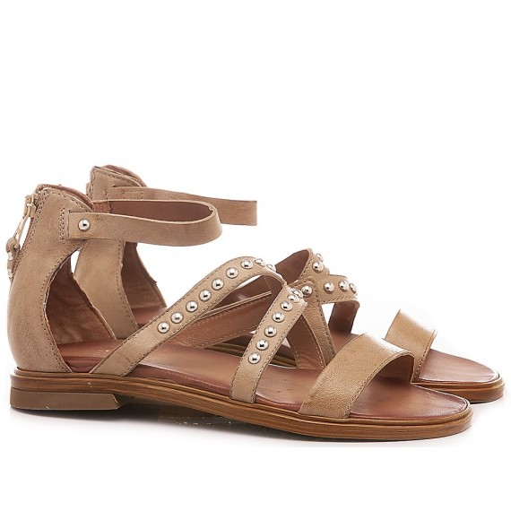 Cuir Veau Women's Sandals M05013 Tan