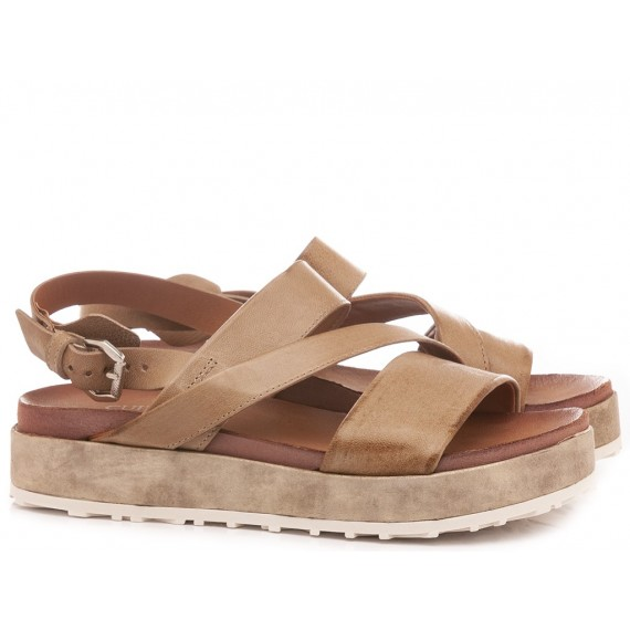 Cuir Veau Women's Sandals M06011 Tan