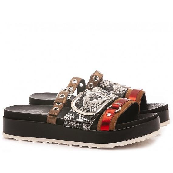Mjus Women's Slippers M06009 Black