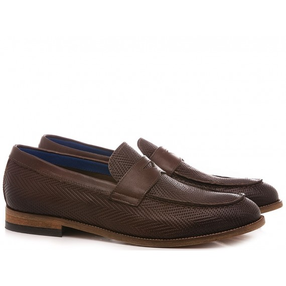 Marco Ferretti Men's Shoes Loafers 161391MF Brown