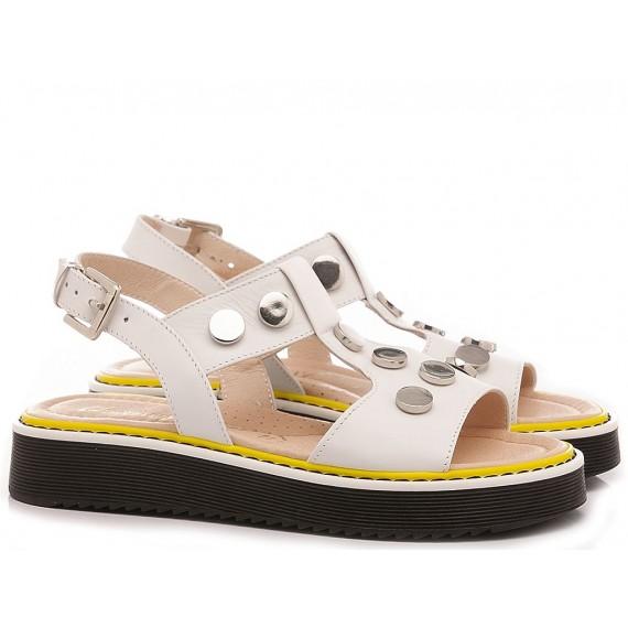 Chiara Luciani Children's Sandals 160/18 White