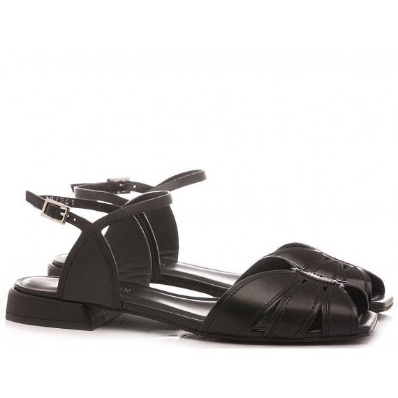 Elvio Zanon Women's Sandals EL5105X Black
