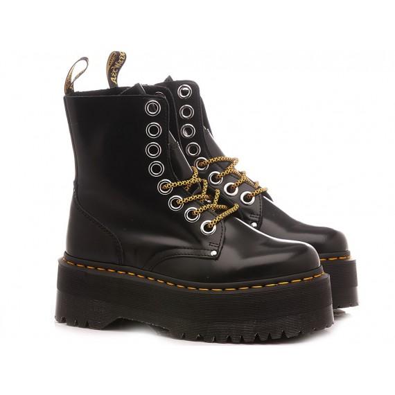 Dr. Martens Women's Ankle Boots Jadon Max Black