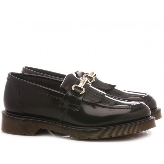 Dr. Martens Women's Loafers Adrian Snaffle Black