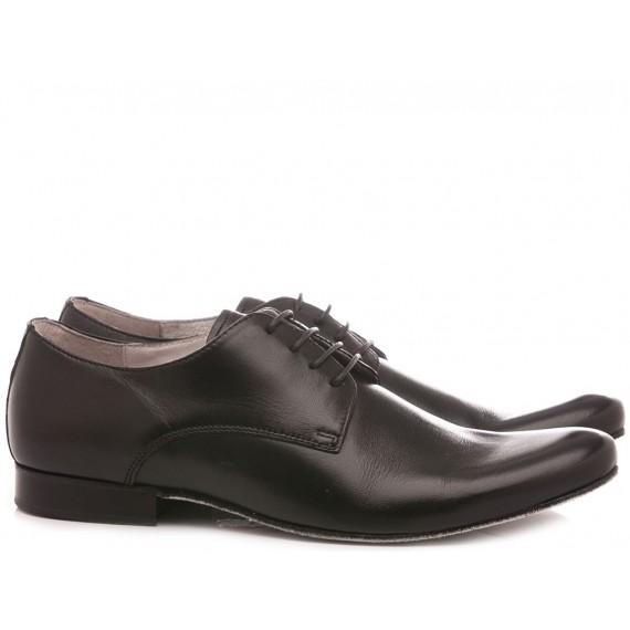 Ballo Italian Dance Shoes Men's Shoes Leather Black 7065A