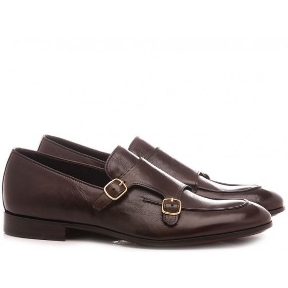 Corvari Men's Elegant Shoes Todi Ebony 9567