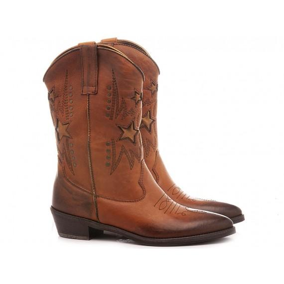 Kammi Women's Western Boots RCA100 Tan