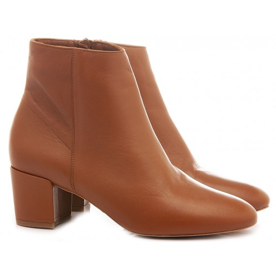 Giacko Women's Ankle Boots Leather Tan Palma50