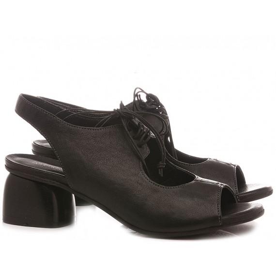 MAT:20 Women's Shoes-Sandals Leather Black 4514