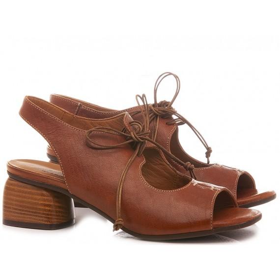 MAT:20 Women's Shoes-Sandals Leather Tan 4514