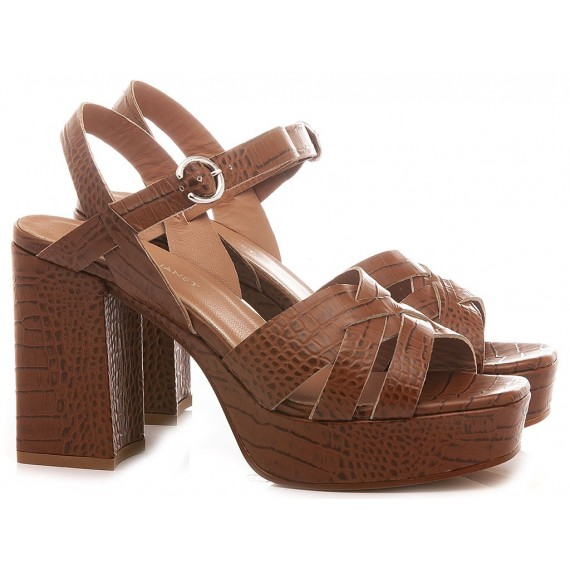Janet & Janet Women's Sandals Rea Brown 45459