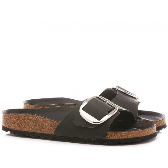 Birkenstock Women's Sandals Madrid Big Bukle Black