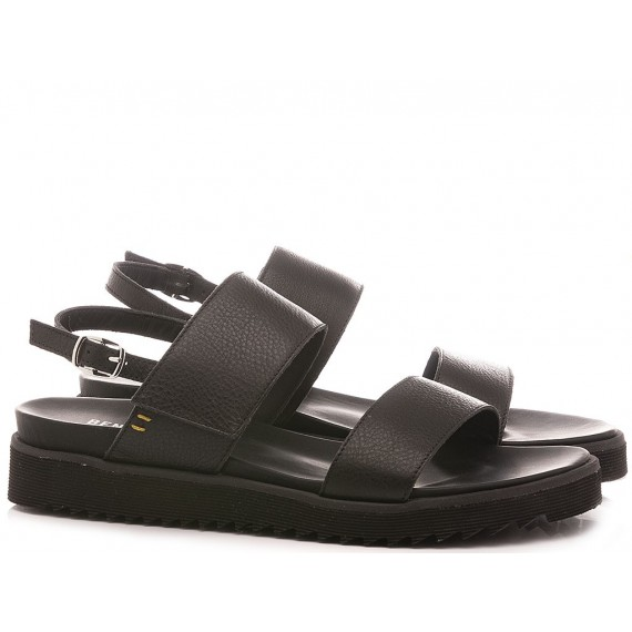 Benvado Women's Shoes-Sandals 36002027 Black