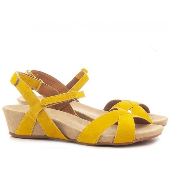 Benvado Women's Shoes-Sandals 280043019 Suede Yellow