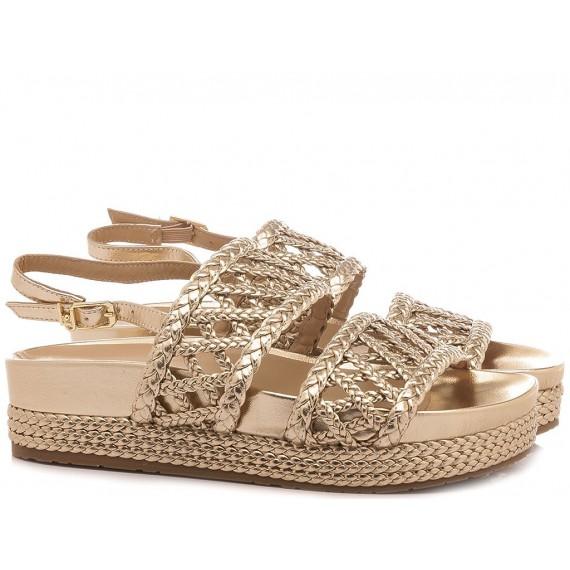 Liu.Jo Women's Sandals Patty 12 Gold