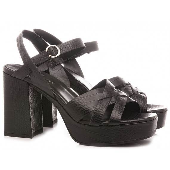 Janet & Janet Women's Sandals Rea Black 45459