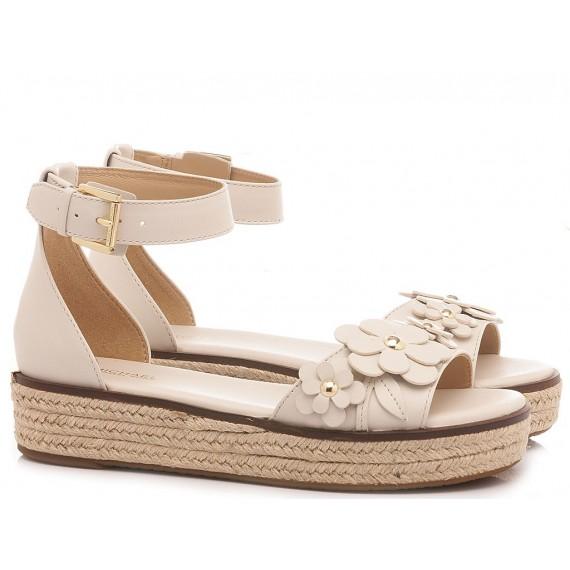 Michael Kors Women's Sandals Flora Light Cream