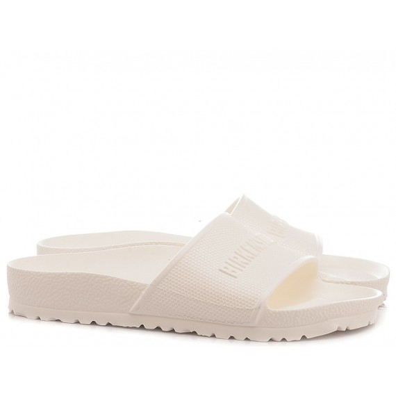 Birkenstock Women's Slippers Barbados Eva White