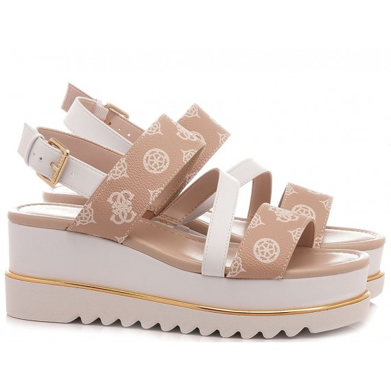 Guess Women's Shoes-Sandals Pink
