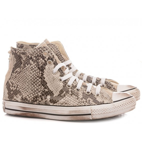 Converse All Star Customized Women's Sneakers CTAS HI Customized