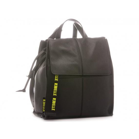 Rebelle Women's Backpack Leather Black