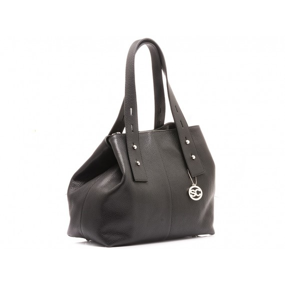 Scarlett Women's Bag Leather Black
