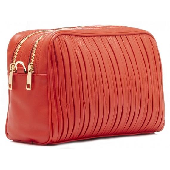 Galeotti Damentasche Leder Rot