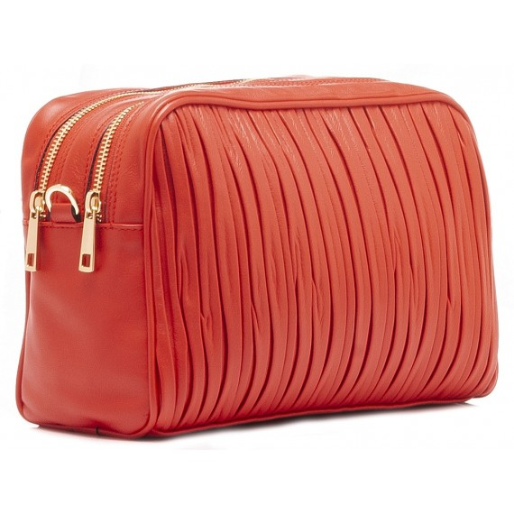 Galeotti Women's Bag Leather Red