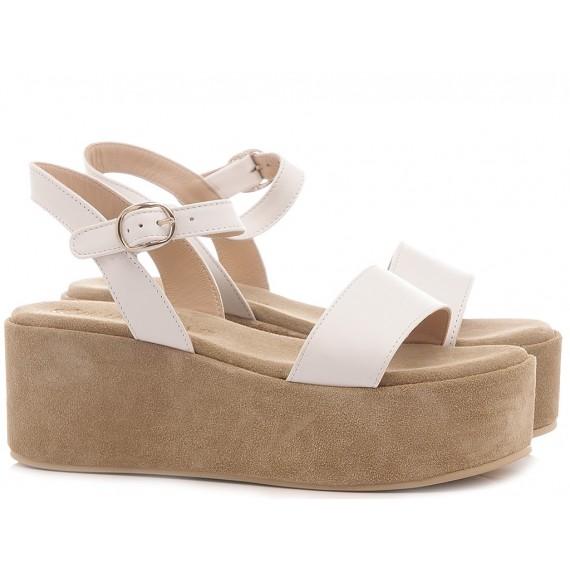 Chiaraluna Women's Sandals Leather White
