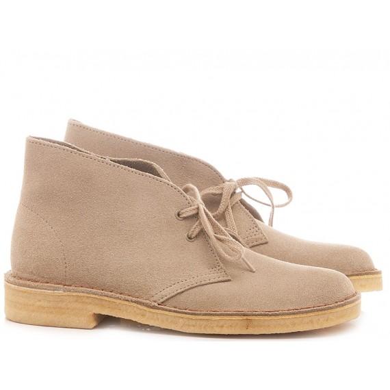 Clarks Desert Boots Sand Suede