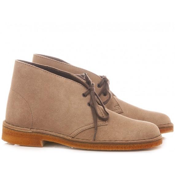Clarks Desert Boots Wolf Suede