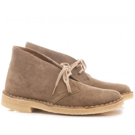 Clarks Desert Boots Pale Green