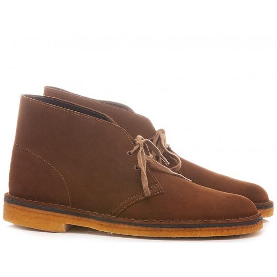 Clarks Desert Boots Walnut Suede