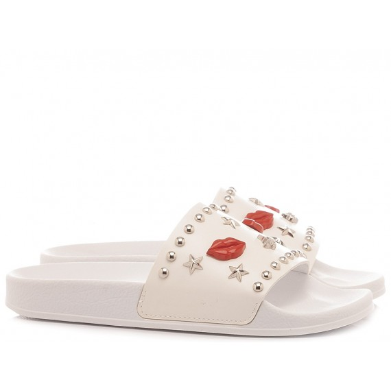 Seddy's Women's Slippers 127 White