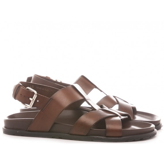 Italo Carli Men's Sandals M6856 Brown