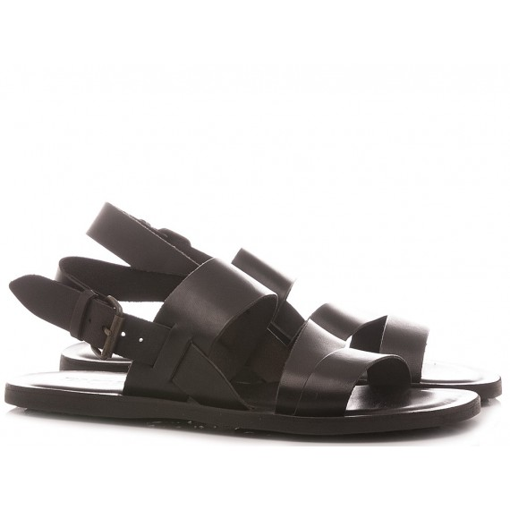 Emozioni Men's Sandals M5876 Black
