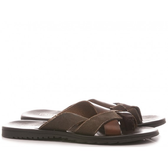 Emozioni Men's Slippers M6081 Ebony