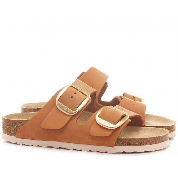 Birkenstock Women's Sandals Arizona Big Bukle Brandy
