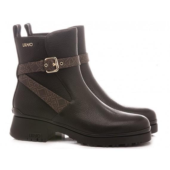 Liu.Jo Women's Ankle Boots New Nancy 35 Black