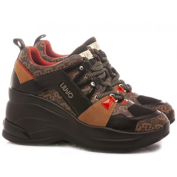 Liu.Jo Women's Sneakers Karlie Revolution 26 Black