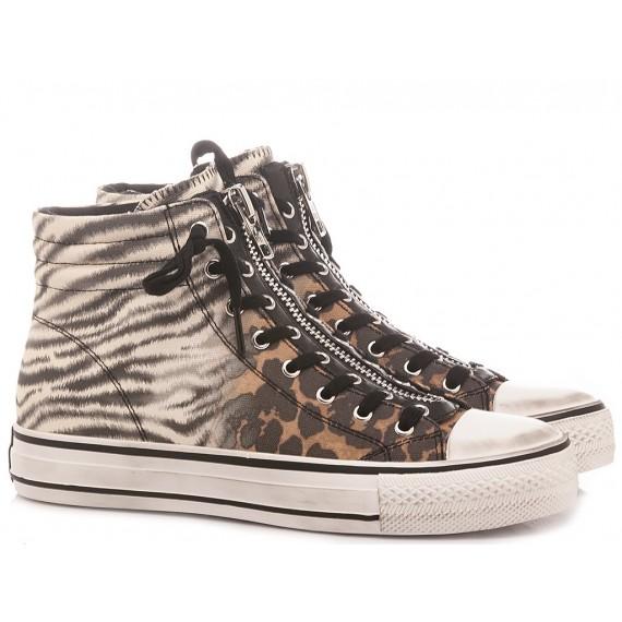 Ash Women's Sneakers Grunt Animalier