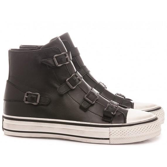 Ash Women's Sneakers Virgin Black