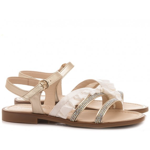 Florens Children's Sandals F7774 Platinum