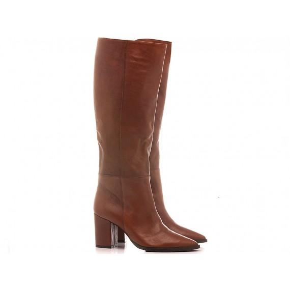 Mariga Women's Boots Leather Tan 610