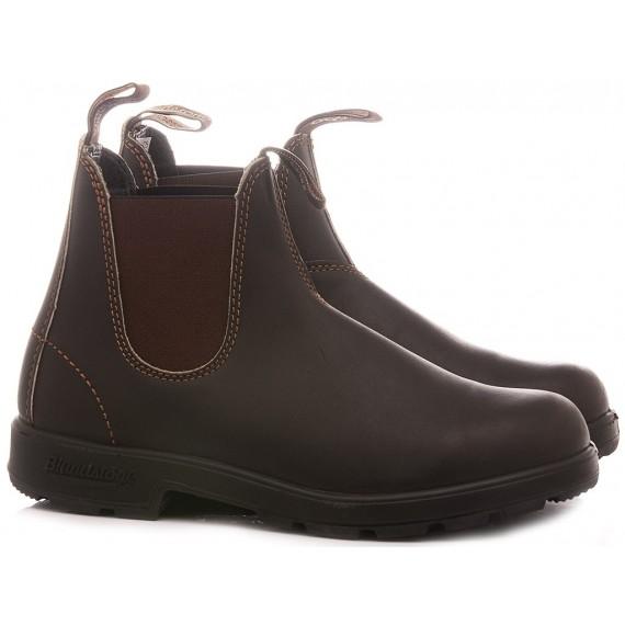 Blundstone Men's Ankle Boots Stout Brown Premium 500
